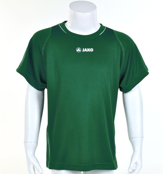 Jako Shirt Fire KM - Sportshirt - Kinderen - Maat 164 - Green;White