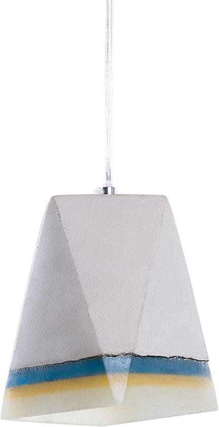 bol beliani mabel hanglamp beton grijs