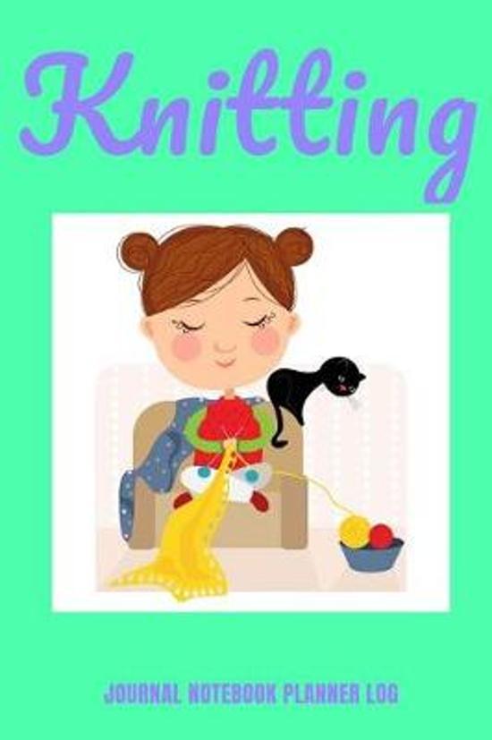 Knitting Journal Notebook Planner