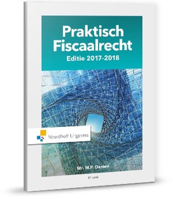 Praktisch Fiscaalrecht 2017-2018