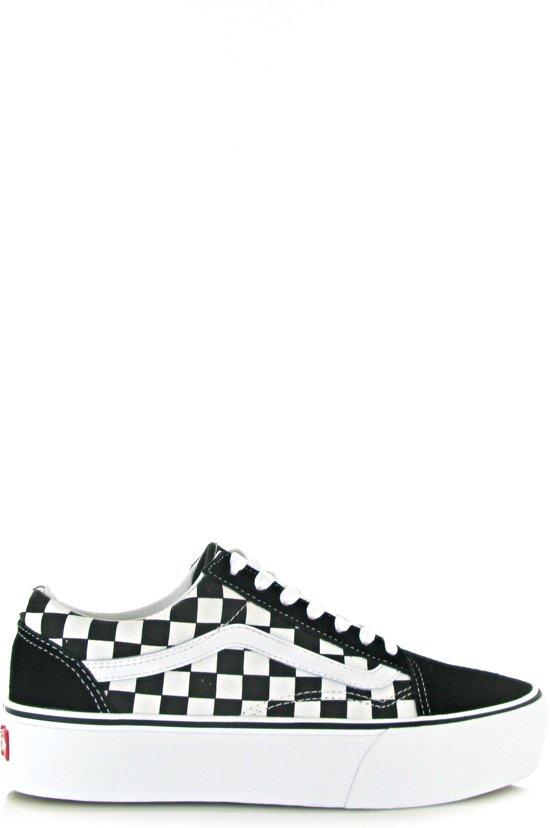 b39addf3bb0738 Vans Dames Sneakers Old Skool Platform - Zwart - Maat 42