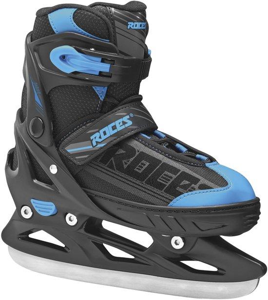 Roces Schaatsen - Maat 34-37 - Unisex - zwart/blauw