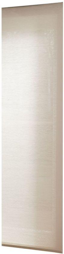 Woonexpress Uni Taupe - Paneelgordijn - Bruin - 60x300 cm - Per stuk