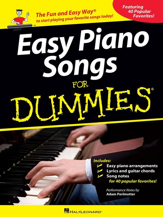 Bol Easy Piano Songs For Dummies Ebook Adam Perlmutter