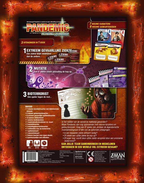 Pandemic Extreem Gevaar - Uitbreiding