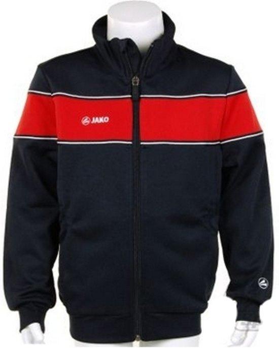 Jako Trainings Jacket Player Junior - Sportshirt - Kinderen - Maat 164 - Dark Navy;Red