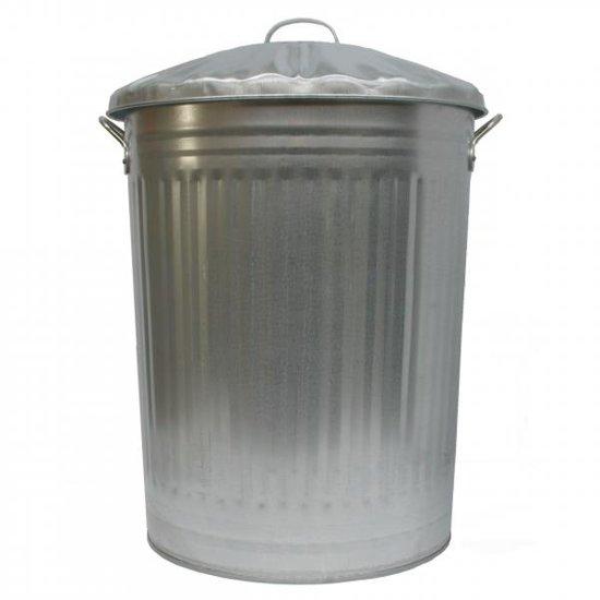 Gegalvaniseerde vuilnisbak 100 liter