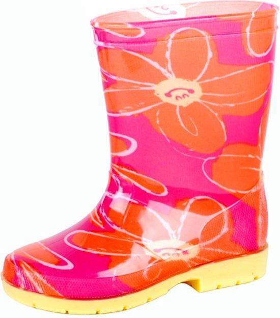 bol.com   Gevavi Boots Suze meisjeslaars pvc roze oranje 22 eab67b09ef78