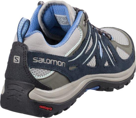 Ellipse Salomon Aero Blue Petunia 2 TitaniumDeep WandelschoenenDames sBthdQxrC