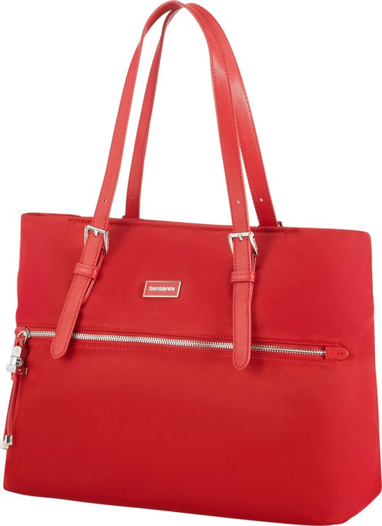 93896a0300e bol.com | Samsonite schoudertas - KARISSA SHOPPING BAG M Rood