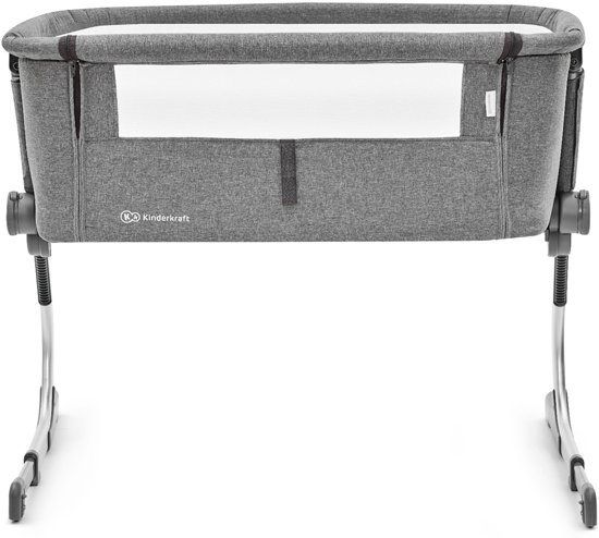 Kinderkraft Co Sleeper - Aanschuifwieg Uno Grey