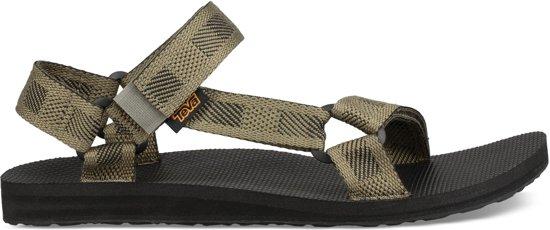 huge discount 130b3 456a6 Teva Original Universal groen sandalen heren