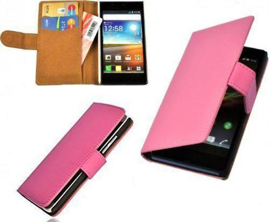 Alternate Samsung GalaxyYoung 2 G130 Bookcase Cover Cover Roze in Comblain-au-Pont