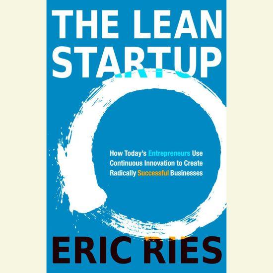 Boek cover The Lean Startup van Eric Ries (Onbekend)