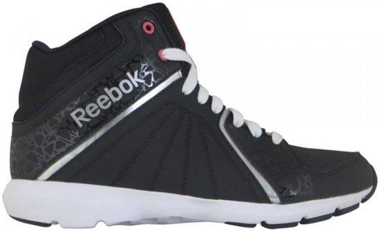 ac58ef3d4a0 bol.com | Reebok Fitness-schoenen Studio Beat Vi Mid Dames Zwart Mt 38,5