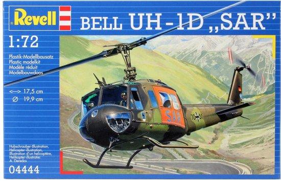 Revell Bouwdoos  Bell UH-1D Sar Duits Vliegtuig