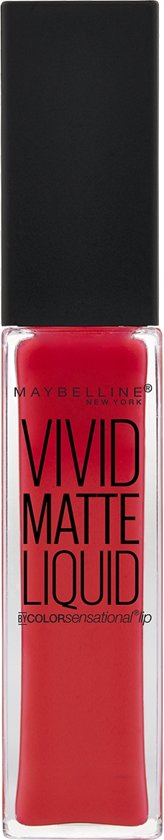 Maybelline Vivid Matte Liquid - 25 Orange Shot - Oranje - Lippenstift