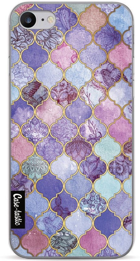 Casetastic Softcover Apple iPhone 7 / 8 - Purple Moroccan Tiles