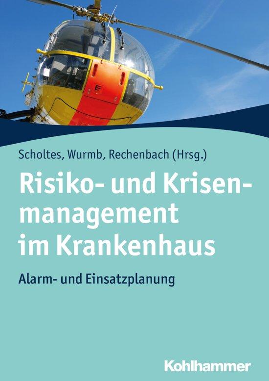 Boek cover Risiko- und Krisenmanagement im Krankenhaus van Peer Rechenbach (Onbekend)