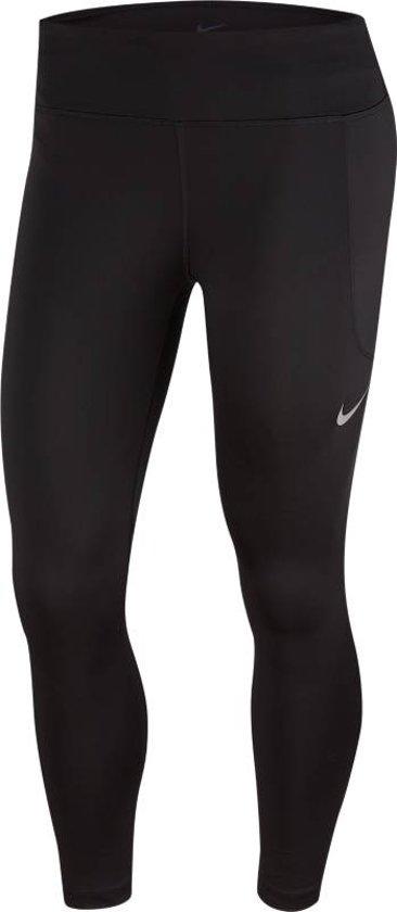 Nike Fast Crop Mr Sportbroek Dames - Zwart