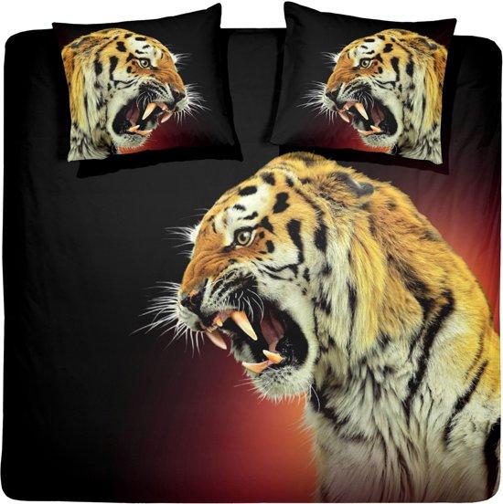 Damai Dekbedovertrekset katoen 240 x 200/220 cm el tigre gold