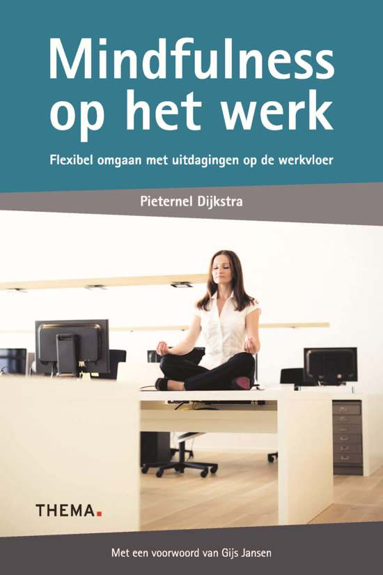 Boek cover Mindfulness op het werk van Pieternel Dijkstra (Paperback)