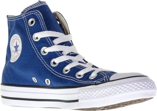 0cfe7c1a057 Converse Chuck Taylor All Star Hi Fresh Colours - Sneakers - Blauw/Wit -  Maat