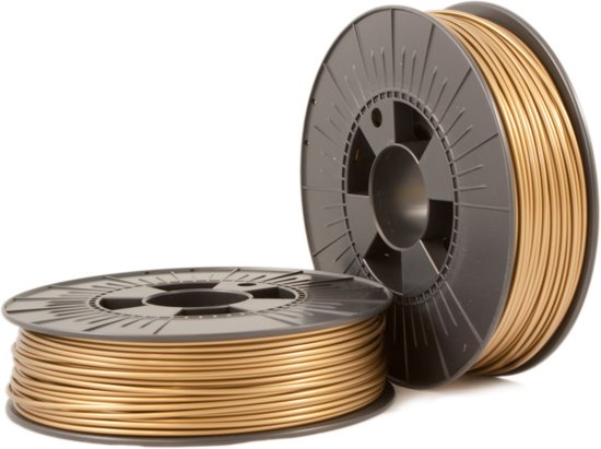 ABS-X 2,85mm bronze gold ca. RAL 1036 0,75kg - 3D Filament Supplies