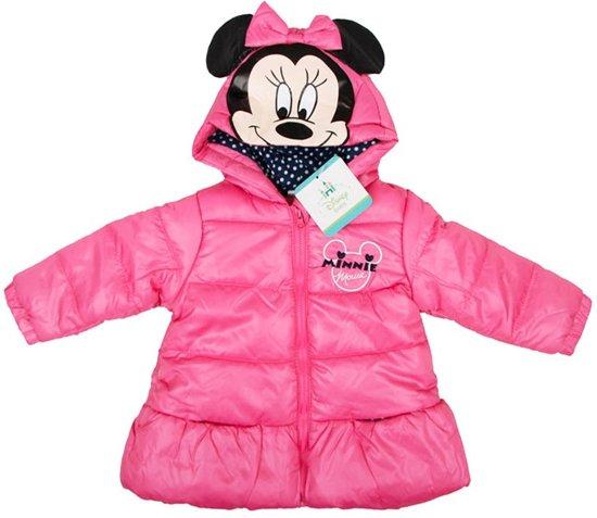Disney baby meisjes winterjas roze maat 86
