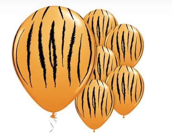 tijger print ballonnen