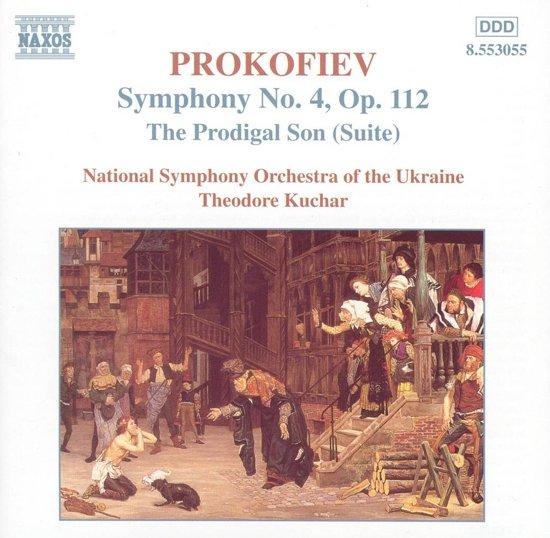 Prokofiev: Symphony no 4, etc / Kuchar, Ukraine