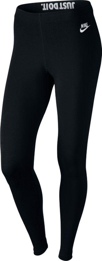Nike Sportswear Leg A See Legging JDI Sportlegging Dames - Black