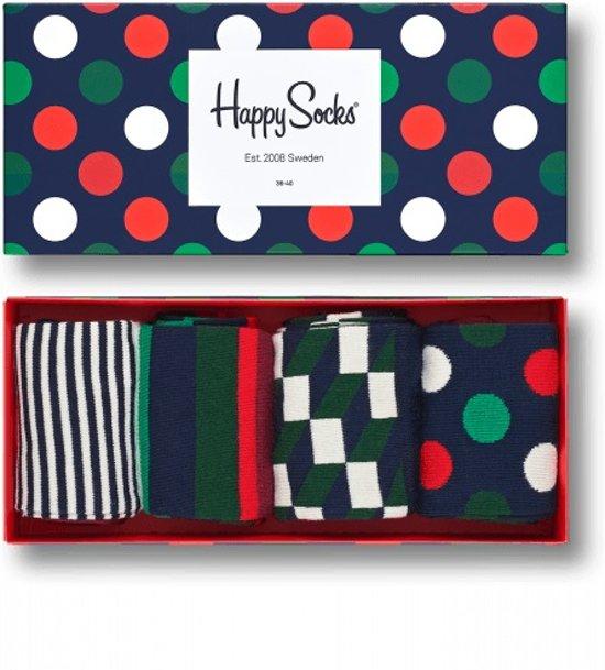 Happy Socks Holiday Big Dot Giftbox - Maat 36-40