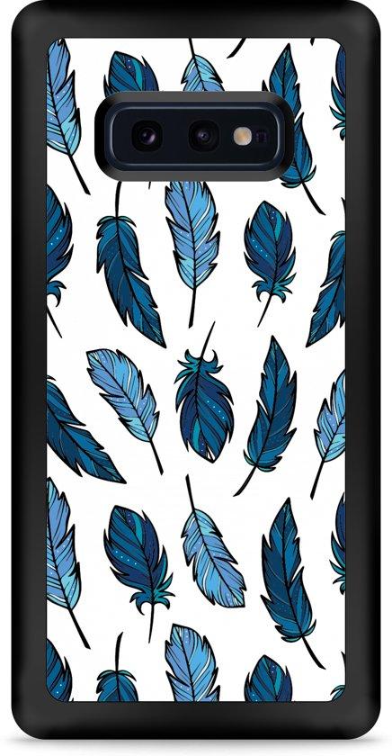 Galaxy S10e Hardcase hoesje Feathers