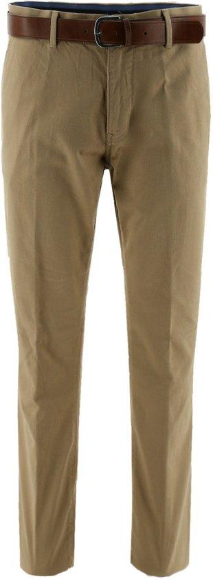 regular fit chino broek beige, maat 26