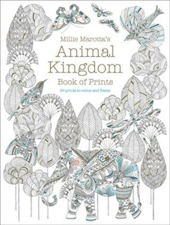 Millie Marotta's Animal Kingdom Book of Prints