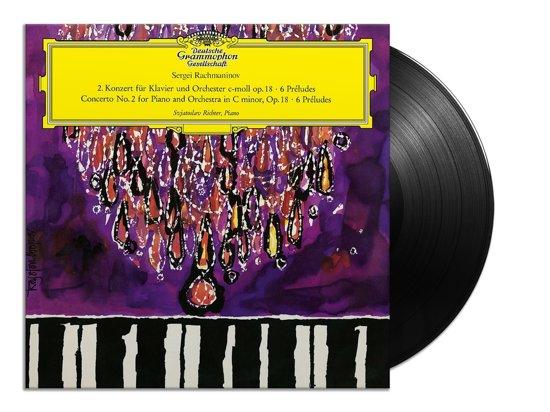 Rachmaninov: Piano Concerto No. 2 In C Minor, Op 18 (LP)