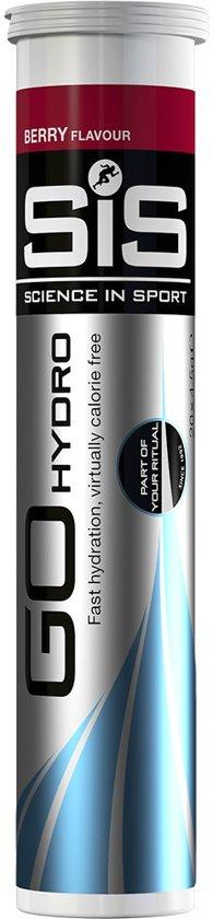 SIS Energydrink Go HydroTablet Berry (20x4 gram)