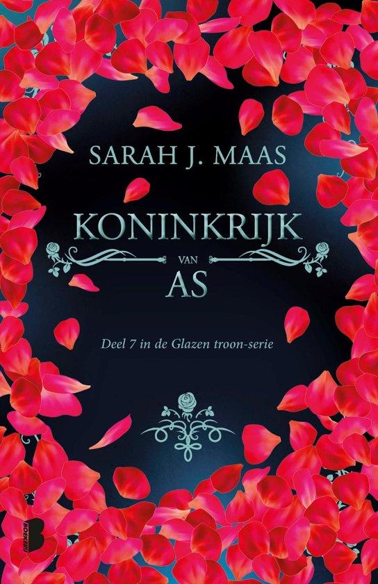 Boek cover Glazen troon 7 - Koninkrijk van as van Sarah J. Maas (Onbekend)