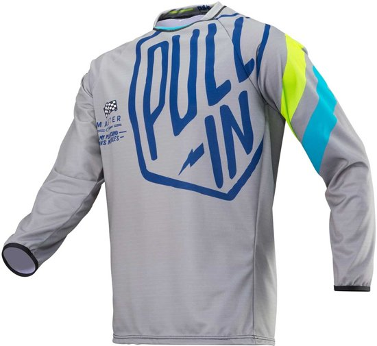 Pull-In Crossshirt Challenger Master Grey/Lime-S