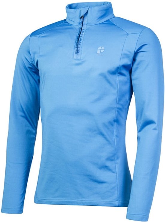 Protest Fleece Top Heren WILLOWY Mid BlueS