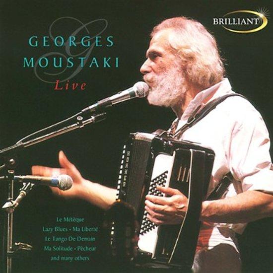 CD cover van Live van Georges Moustaki