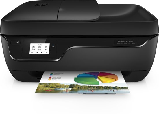 hp officejet 3830 e all in one printer. Black Bedroom Furniture Sets. Home Design Ideas