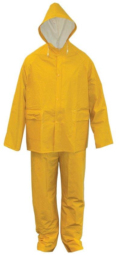 Regenpak PVC-rayon geel M