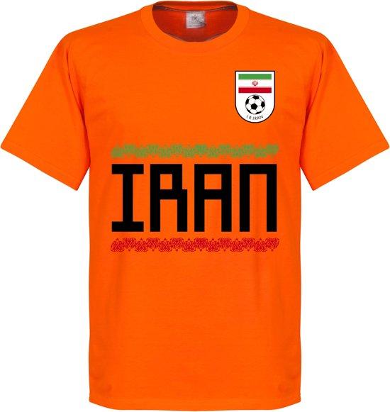 Iran Keeper Team T-Shirt - Oranje - S