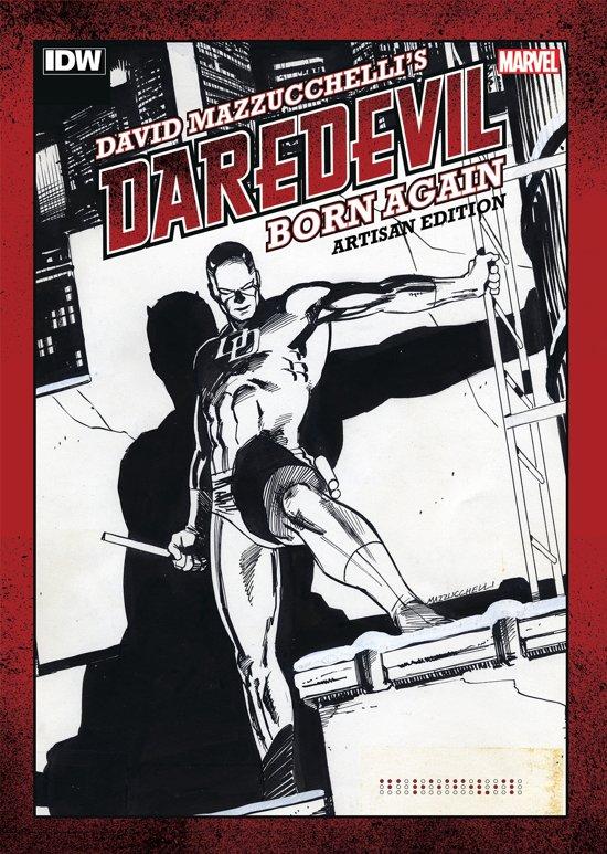 David Mazzucchelli's Daredevil Born Again Artisan Edition