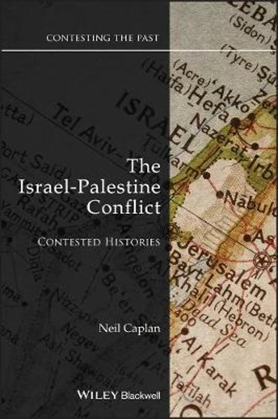 The Israel-palestine Conflict - Contested Histories