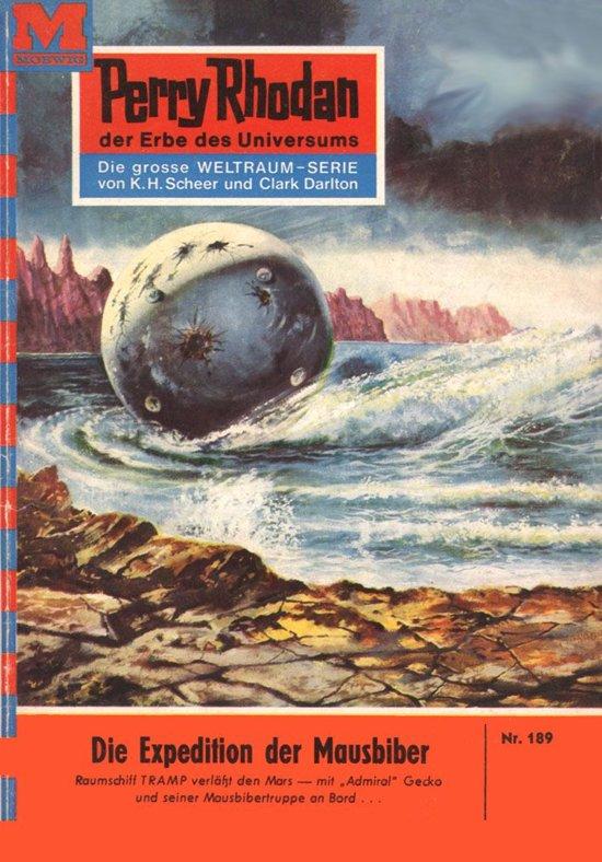 Perry Rhodan 189: Die Expedition der Mausbiber