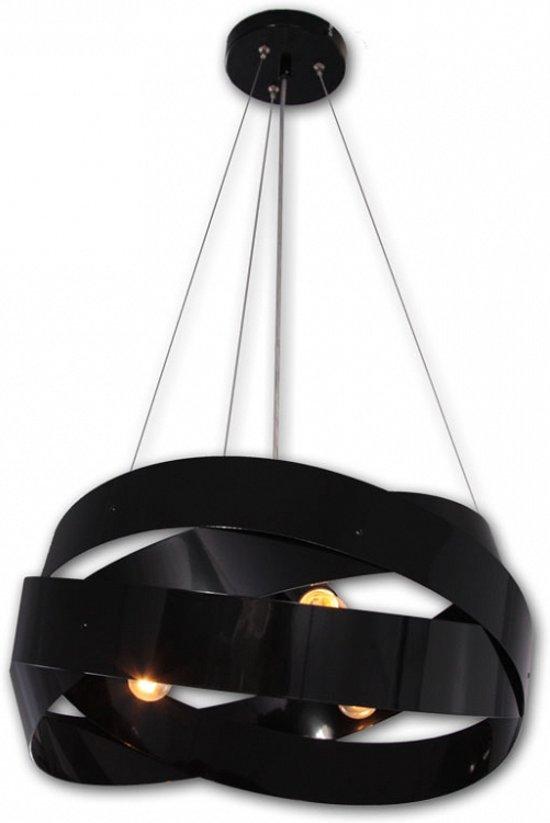 bol design hanglamp zwart d50 cm