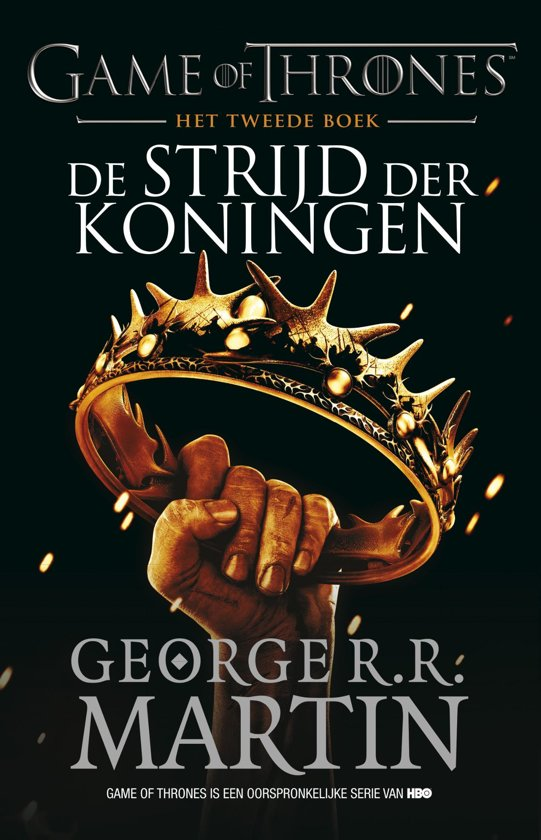 Boek cover Game of Thrones 2 - De Strijd der Koningen van George R.R. Martin (Onbekend)